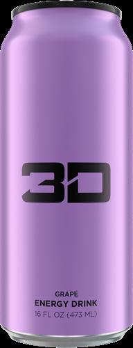 3D Energy Grape (1 x 473 ml)