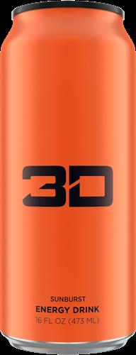 3D Energy Sunburst (1 x 473 ml )