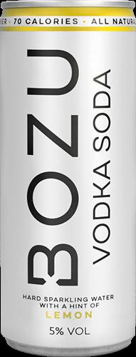 BOZU Vodka Soda Lemon (1 x 250 ml)