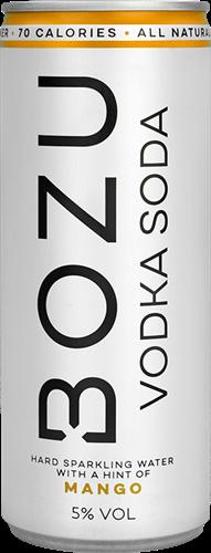 BOZU Vodka Soda Mango (12 x 250 ml)