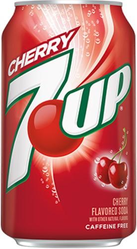 7-UP USA Cherry (12 x 355 ml)