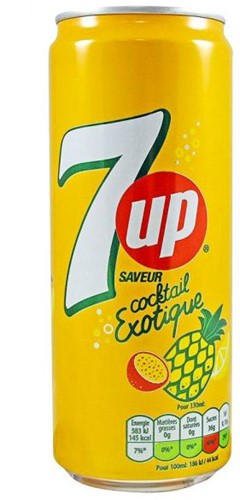 7-UP Cocktail Exotique (24 x 330 ml)