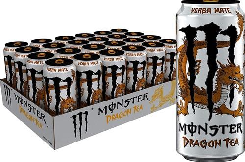 Monster Energy Dragon Tea Yerba Mate (24 x 458 ml)