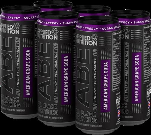 ABE Energy + Performance American Grape Soda (24 x 330 ml)