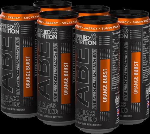 ABE Energy + Performance Orange Burst (6 x 330 ml)