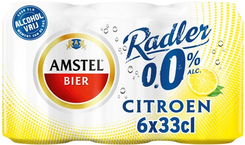 Amstel Radler 0.0% (6 x 330 ml)