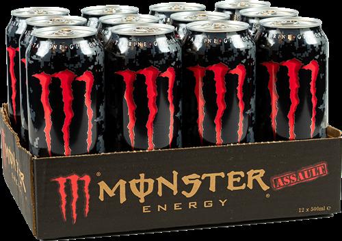Monster Energy Assault (12 x 500 ml)