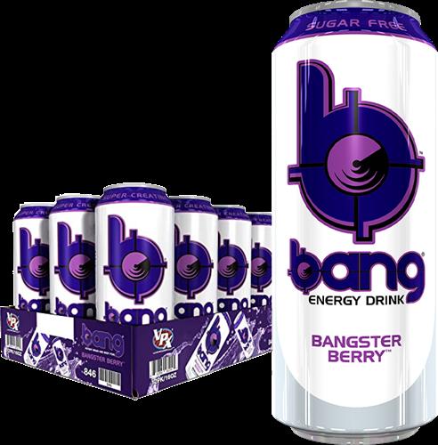 Bang Energy Bangster Berry (12 x 500 ml)