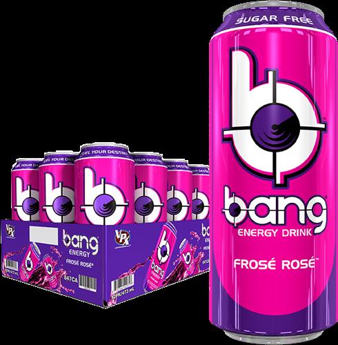 Bang Energy Frosé Rosé (12 x 500 ml)