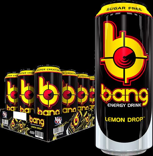 Bang Energy Lemon Drop (12 x 500 ml)