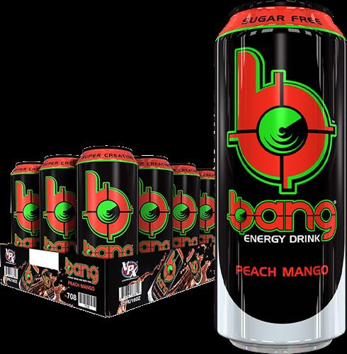 Bang Energy Peach Mango (12 x 500 ml)