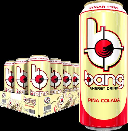 Bang Energy Piña Colada (12 x 500 ml)