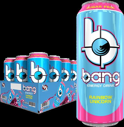 Bang Energy Rainbow Unicorn (12 x 500 ml)