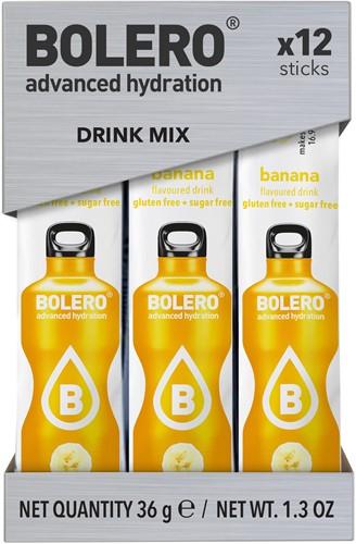 Bolero Sticks Banana (12 x 3 gr)