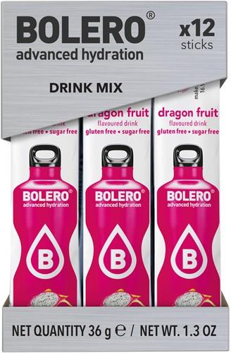 Bolero Sticks Dragon Fruit (12 x 3 gr)