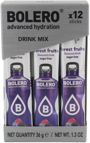 Bolero Sticks Forest Fruits (12 x 3 gr)
