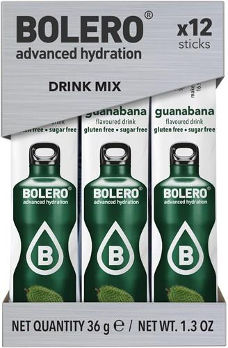 Bolero Sticks Guanabana (12 x 3 gr)