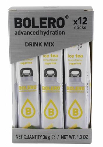 Bolero Sticks Ice Tea Lemon (12 x 3 gr)