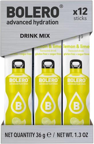 Bolero Sticks Lemon & Lime (12 x 3 gr)