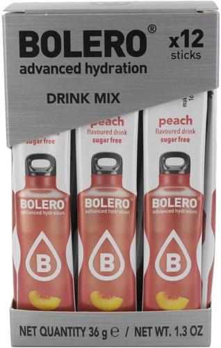 Bolero Sticks Peach (12 x 3 gr)