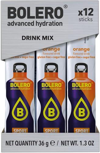 Bolero Sticks Sport Orange (12 x 3 gr)