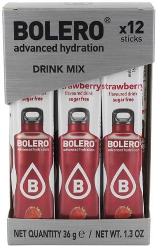 Bolero Sticks Strawberry (12 x 3 gr)