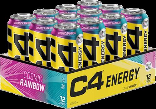 C4 Energy Cosmic Rainbow (12 x 500 ml)