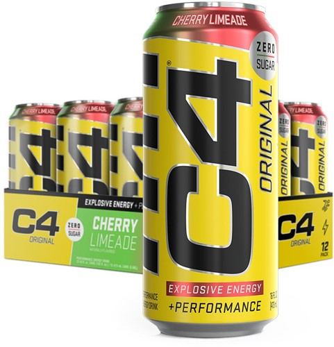 C4 Carbonated Cherry Limeade (12 x 473 ml)
