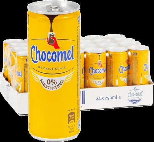 Chocomel 0% Suiker (24 x 250 ml)
