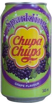 Chupa Chups Sparkling Grape (24 x 345 ml)