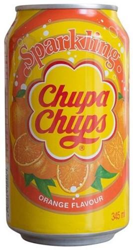 Chupa Chups Sparkling Orange (24 x 345 ml)