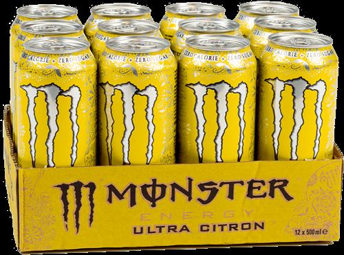 Monster Energy Ultra Citron (12 x 500 ml)