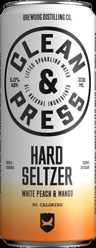 Clean & Press Peach Mango (12 x 330 ml)
