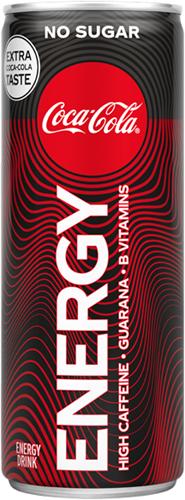 Coca Cola Energy No Sugar (12 x 330ml)
