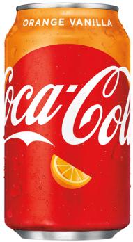 Coca Cola Orange Vanilla (12x 355 ml)
