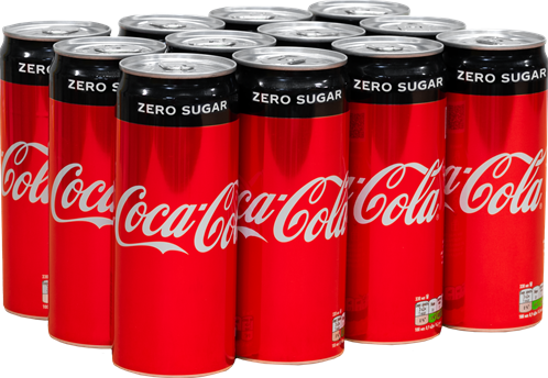 Coca Cola Zero (12 x 330 ml)