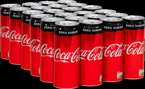Coca Cola Zero Original (24 x 330 ml)