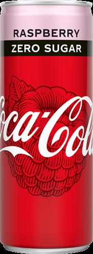 Coca Cola Zero Raspberry (12 x 250 ml)