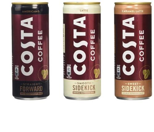 Costa Coffee Vanilla Latte (12 x 250 ml)