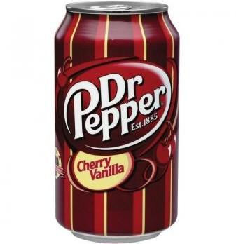 Dr Pepper USA Cherry Vanilla (12 x 355 ml)