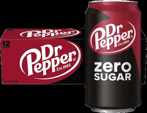 Dr Pepper USA Zero Sugar Original (12 x 355 ml)
