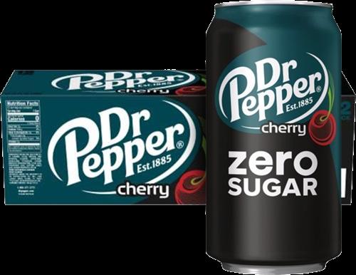 Dr Pepper USA Zero Sugar Cherry (12 x 355 ml)