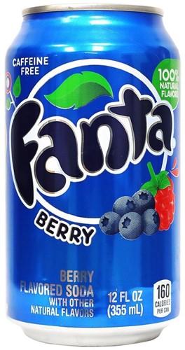 Fanta USA Blueberry (12 x 355 ml)