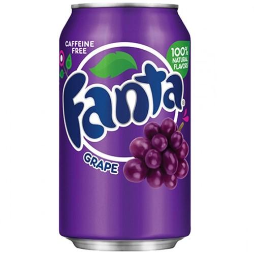 Fanta USA Grape (12 x 355 ml)