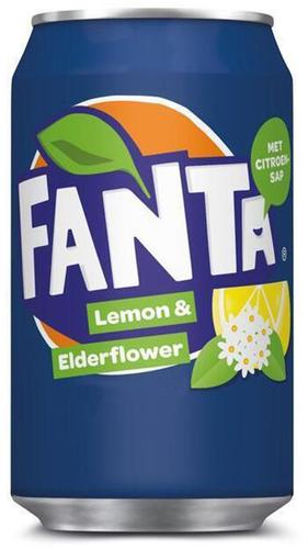 Fanta Lemon & Elderflower (24 x 330 ml)