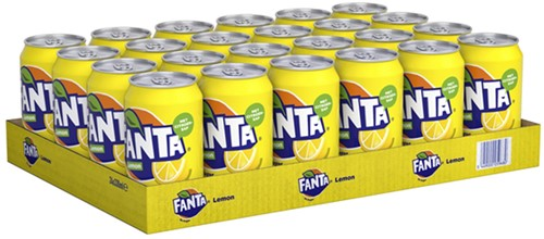 Fanta Lemon No Sugar (24 x 330 ml)