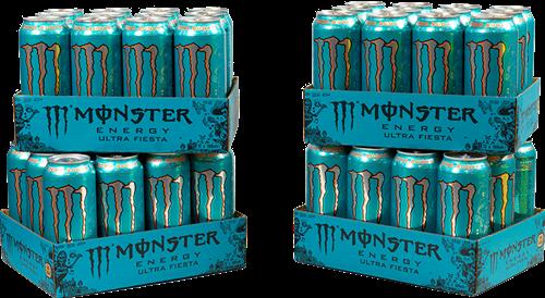Monster Energy Ultra Fiesta 4 Pack (48 x 500 ml)