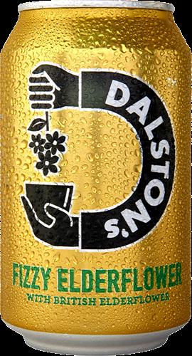 Dalstons Fizzy Elderflower (1 x 330 ml)
