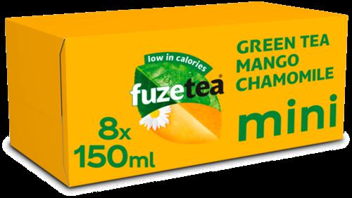 Fuze Tea Green Tea Mango Chamomile Mini (8 x 150 ml)