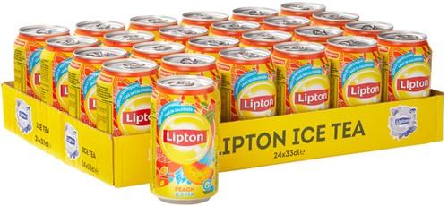 Lipton Ice Tea Peach (24 x 330 ml)